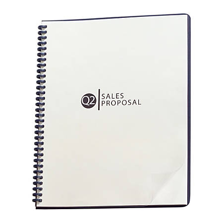 GBC® ClearView® Presentation Covers, Prepunched, Clear, Pack Of 25