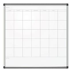 U Brands Pinit Magnetic Dry Erase Calendar Board Painted Steel 35 X