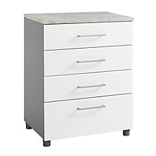 Ameriwood Home Latitude 4 Drawer Base