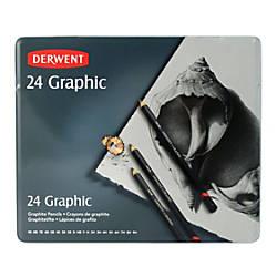Derwent Graphic Graphite Pencils Set Of