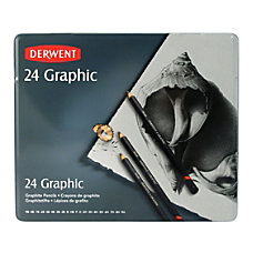 Derwent Graphic Graphite Pencils Set Of