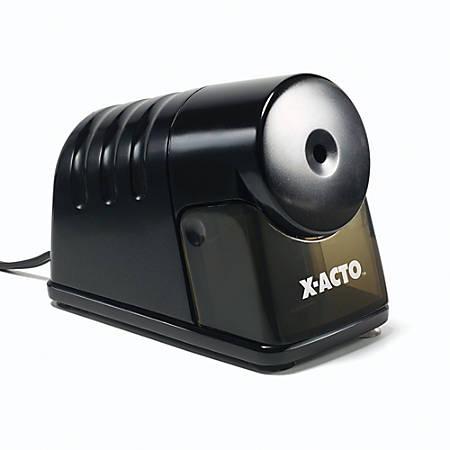 X-ACTO® Powerhouse® Electric Pencil Sharpener, Black
