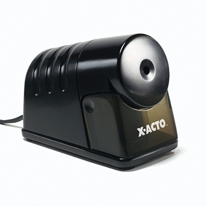 X Acto House Electric Pencil Sharpener Black By Office Depot Officemax