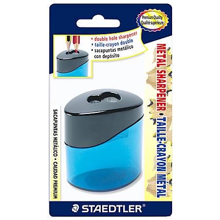 Staedtler® 2-Hole Metal Pencil Sharpener