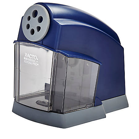 x acto schoolpro electric pencil sharpener by office depot officemax