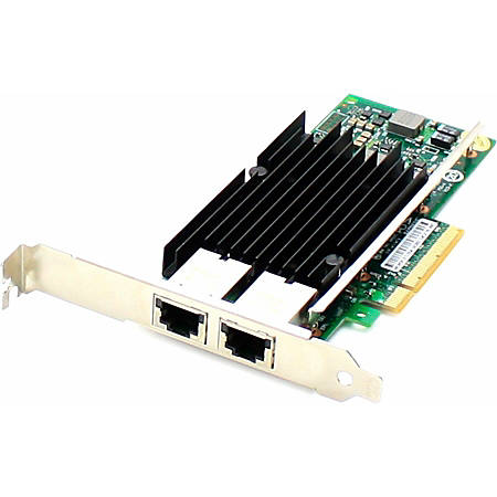 AddOn HP 700699-B21 Comparable 10Gbs Dual Open RJ-45 Port 100m PCIe x8 Network Interface Card - 100% compatible and guaranteed to work