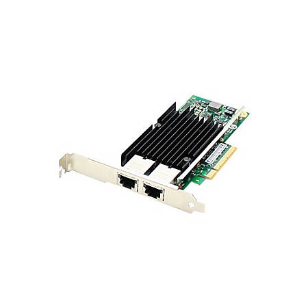 AddOn HP 700699-B21 Comparable 10Gbs Dual Open RJ-45 Port 100m PCIe x8 Network Interface Card