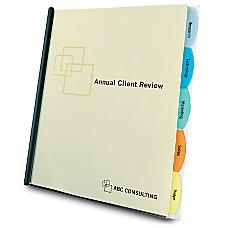 GBC Slide N Bind Viewtab Report