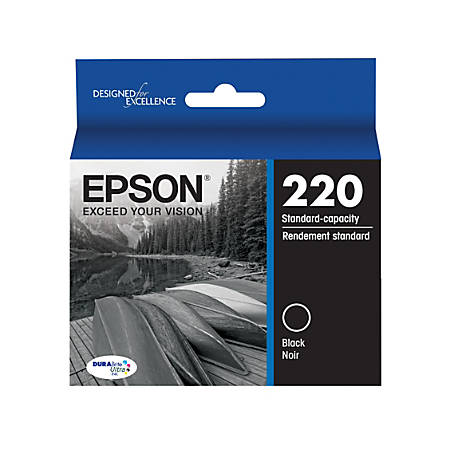 Epson® DuraBrite® Ultra Ink Cartridge, Black, T220120-S