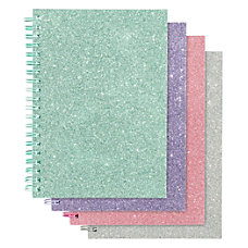 Office Depot Glitter Notebook 5 x