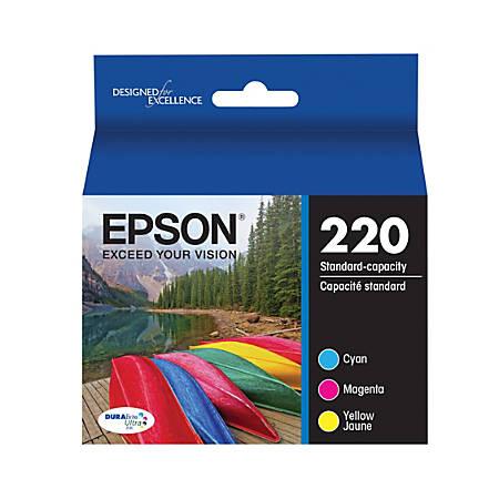 Epson® DuraBrite® Ultra Standard Capacity Color Multipack Ink Cartridges