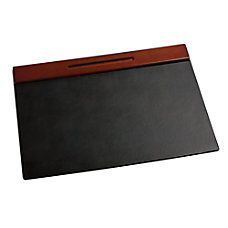 Rolodex Wood Tones Desk Pad 19