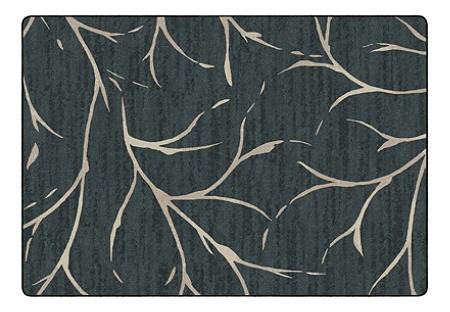 Flagship Carpets Moreland Rectangular Area Rug 100 X 144 Blue Item 5962397