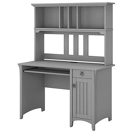 Bush Furniture Salinas Mission Desk With Hutch Cape Cod