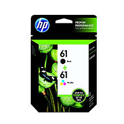 HP 61 BlackTricolor Ink Cartridges CR259FN