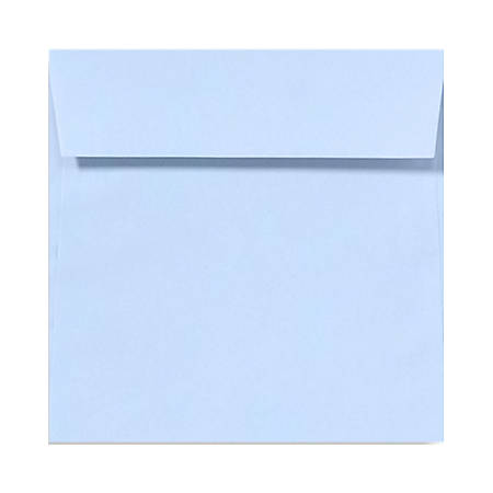 "LUX Square Envelopes With Peel & Press Closure, 5 1/2"" x 5 1/2"", Baby Blue, Pack Of 1,000"