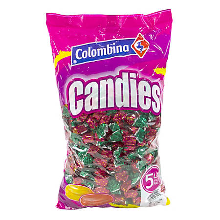 Colombina Strawberry-Filled Hard Candies, 5-Lb Bag