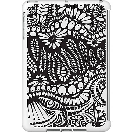 OTM iPad Mini White Glossy Case New Age Collection, Paisley