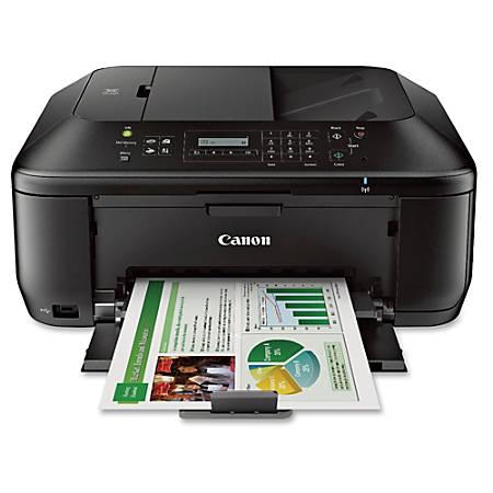 Canon PIXMA MX532 Inkjet Multifunction Printer Color Photo Print