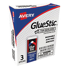 Avery Disappearing Color Glue Stics For