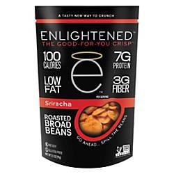 Enlightened Broad Bean Crisps Sriracha 35