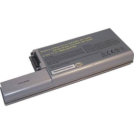 Compatible Laptop Battery Replaces Dell 312-0537, 310-9122, 312-0393, 312-0401, 312-0537, 312-0537-EV7, 451-10308, 451-10326, DF230, DF249, FF232, GX047, XD736, YD624, YD626 - Fits in Dell Latitude D531, D531N, D820, D830; Dell Precision M4300, M65