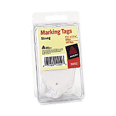 Avery White Marking Tags 11012 Strung