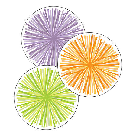 """Schoolgirl Style Cut-Out Decorations, 5"""" x 5"""", Colorful, Pack Of 36 Decorations"""