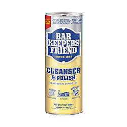 Bar Keepers Friend Cleanser Polish 21