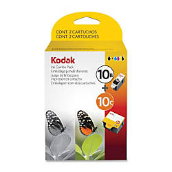 Kodak 10B 10C BlackColor Ink Cartridge