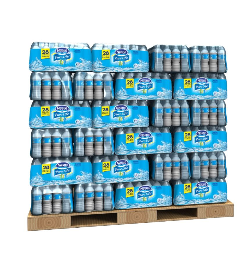 Nestl Pure Life Purified Bottled Water 16.9 Oz Case Of 28 Pallet Of 60 Cases by Office Depot u0026 OfficeMax  sc 1 st  Office Depot & Nestl Pure Life Purified Bottled Water 16.9 Oz Case Of 28 Pallet Of ...