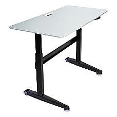 Iceberg Mobile Sit Stand Desk 59