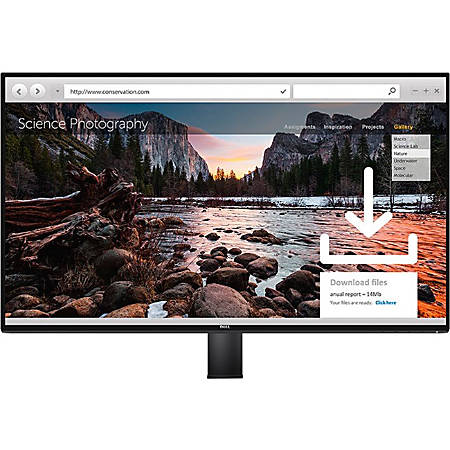 "Dell™ UltraSharp™ InfinityEdge 27"" LED LCD Monitor With Arm, U2717DA"