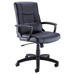Bush Business Furniture Leather Managers High