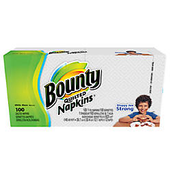 Bounty Quilted 1 Ply Napkins 15