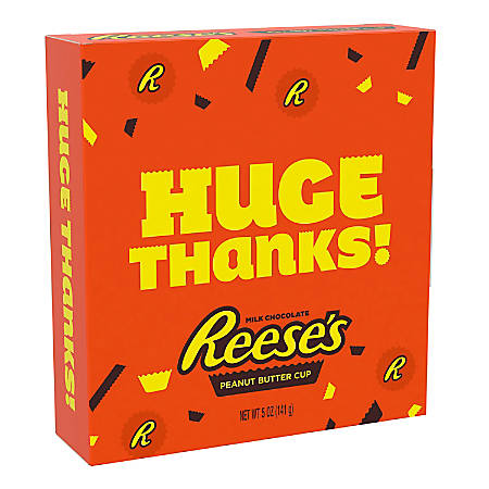 Reese's Giant Appreciation Peanut Butter Cups, 5 Oz, Pack Of 3 Bags