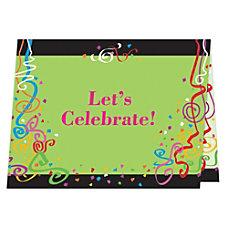 Custom Full Color Folded Note Card