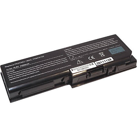 Compatible 9 cell (6600 mAh) battery for Toshiba Satellite A200; A205; A210; A215; A300; A305; L300; L305; M200; M205