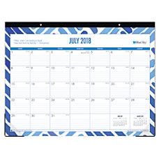 Blue Sky Academic Monthly Desk Pad