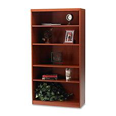 Mayline Aberdeen 5 Shelf Bookcase Cherry