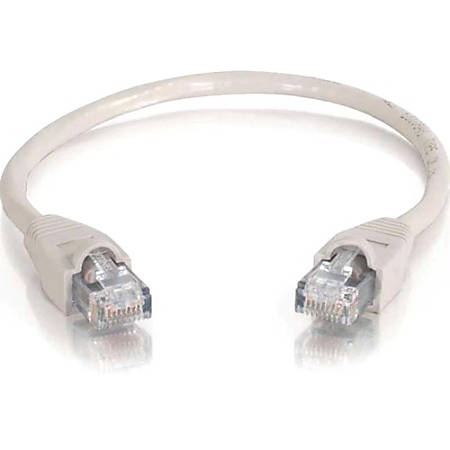 C2G 35ft Cat6 Snagless Unshielded (UTP) Network Patch Cable (USA-Made) - Gray