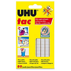 Saunders UHU Tac Adhesive Putty 256