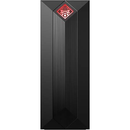 HP OMEN Obelisk 875-0000 875-0140 Gaming Desktop Computer - Core i5 i5-9400F - 8 GB RAM - 512 GB SSD - Shadow Black, Dark Chrome - Windows 10 Home 64-bit - Intel - Wireless LAN - Bluetooth
