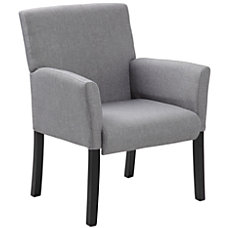 Boss Contemporary Guest Chair Medium Gray