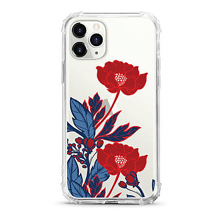OTM Essentials Tough Edge Phone Case For iPhone® 11 Pro, Red Poppies, OP-ADP-Z124A