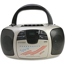 Califone Spirit Multimedia Stereo PlayerRecorder