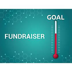 Customizable Yard Sign Fundraiser Goal 18