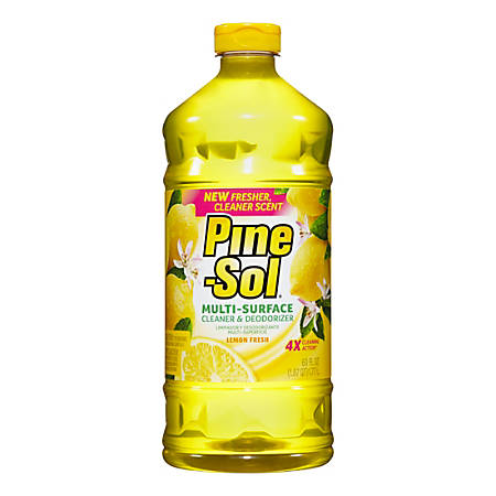 Pine-Sol® All-Purpose Cleaner, Lemon Fresh, 60 Oz.