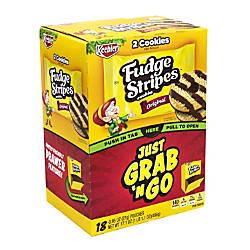 Keebler Grab N Go Fudge Stripes