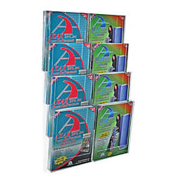 Azar Displays Wall Mount Brochure Holder